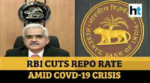 RBI cuts repo rate by 75 bps, allows 3-month moratorium on EMIs [Video]