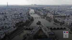 Paris in lockdown from above [Video]