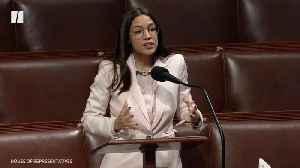"AOC Calls Bailout Bill ""Shameful"" [Video]"