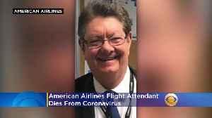 American Airlines Flight Attendant Dies From Coronavirus [Video]