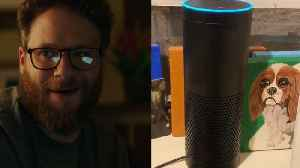 Seth Rogen is staying busy making his Alexa fart [Video]