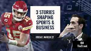 Coronavirus, Fanatics, NFL Draft: What We're Watching Friday [Video]