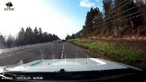 Driver Dodges Oncoming Car Only to Capture Head on Collision [Video]