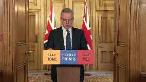 Michael Gove: PM continues to lead effort against Covid-19