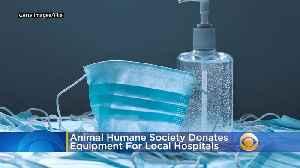 Coronavirus Updates: Animal Humane Society Donates Thousands Of PPE For Local Hospitals [Video]