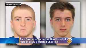 Teen Brothers Charged With Attempted Murder In Drug-Related Shooting [Video]