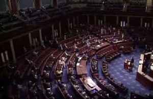 Lawmakers practice social distancing during coronavirus vote [Video]