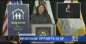 Raw Video: SF Mayor London Breed Updates City's Coronavirus Cases, Response [Video]