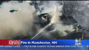 Building And Car Fires Shut Down Manchester, NH Streets [Video]