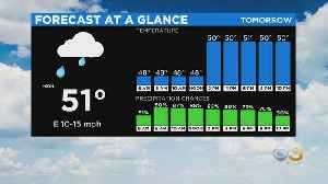 Philadelphia Weather: Heavy Rain Saturday [Video]