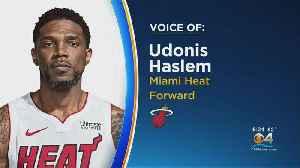 Miami Heat Star Udonis Haslem On The Coronavirus [Video]