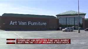 Former Art Van employees fight back against equity firm that cut off insurance without notice [Video]
