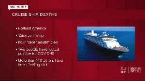 4 dead in Holland America cruise ship [Video]