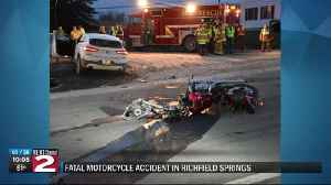 Fatal Motorcycle Accident [Video]