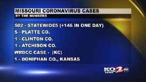 Missouri COVID Cases Top 500 (3-26-20) [Video]