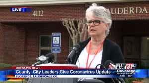 News video: Alabama health department discusses coronavirus cases, death in Lauderdale County