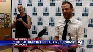 'This is a critical time in our community's fight against COVID-19,' officials say [Video]