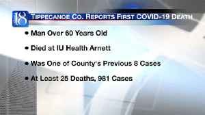 Health department reports Tippecanoe County's first COVID-19 death [Video]