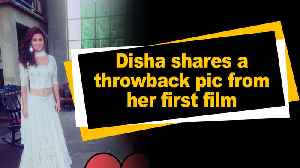 Disha shares shares a throwback pic from her first film [Video]