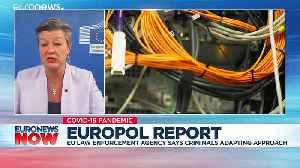 Cybercrime spikes during coronavirus pandemic, says Europol [Video]