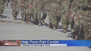 Fort Carson Sending Medical Personnel To Washington State To Help With Coronavirus Outbreak [Video]