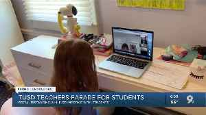 Teachers parade for students [Video]