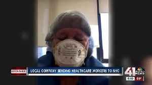 Krucial Staffing sends nurses to hot spots like NY [Video]