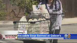 Gelson's Markets Suspends Use Of Reusable Shopping Bags During Coronavirus Crisis [Video]
