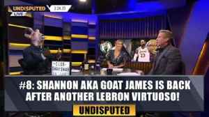 #8 Shannon aka GOAT James is back after another LeBron virtuoso | Top 10 Moments of the Year [Video]