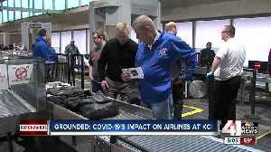 Airlines using KCI as place to 'park' planes [Video]