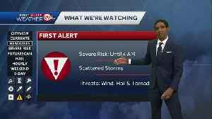Scattered storms possible late Friday, early Saturday [Video]