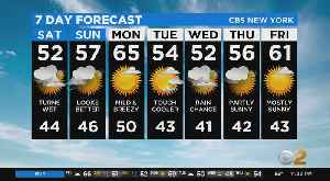 New York Weather: CBS2 3/27 Nightly Forecast at 11PM [Video]