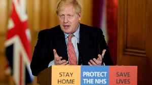 Boris Johnson in isolation after testing positive for coronavirus
