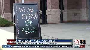 Neighboring Town Center businesses struggle to stay afloat during COVID-19 outbreak [Video]