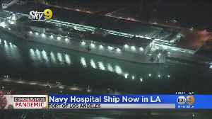 USNS Mercy Docked At Port Of Los Angeles In San Pedro [Video]
