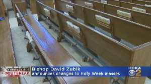 Bishop David Zubik Announces Holy Week Plans [Video]