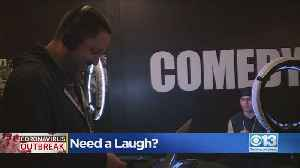 Comedy Spot Providing Laughs During Tough Times [Video]