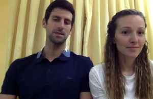 Djokovic pledges one million euros to help fight coronavirus in Serbia [Video]