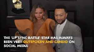 Chrissy Teigen censors herself on social media [Video]