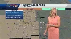More sunshine, but windy Saturday [Video]