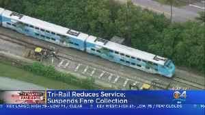 Tri-Rail Cuts Back Service and Suspends All Fares [Video]