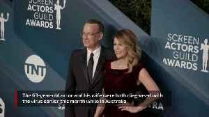 Tom Hanks and Rita Wilson return to LA after battling coronavirus [Video]