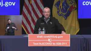 New Jersey Officials Hold Briefing On Coronavirus Cases In State [Video]