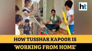 Homeschooling son, letting him grow up 'like in 80s': Tusshar Kapoor's lockdown days [Video]