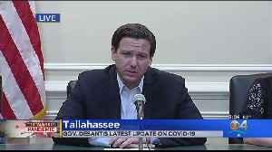 WEB EXTRA: Florida Governor Ron DeSantis Provides Saturday Coronavirus Update [Video]
