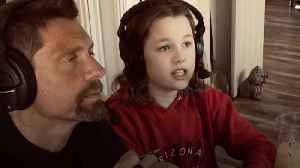 The father/daughter cricket commentating team [Video]