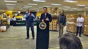 Gov. Newsom, San Jose Mayor Praise Sunnyvale Plant Refurbishing Ventilators [Video]