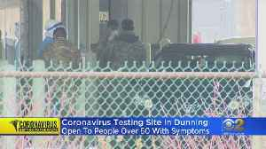 Coronavirus Testing Site In Dunning Open To People Over 60 With Symptoms [Video]