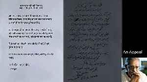 Gulzar pens a poetic appeal in support of lockdown [Video]