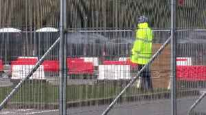 Coronavirus testing takes place in Chessington car park [Video]
